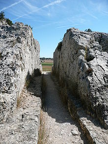 Barbegal Aqueduct And Mill Wikipedia The Free Encyclopedia