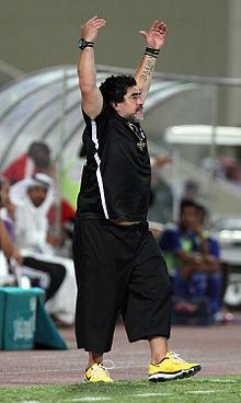 Diego Armando Maradona Wikipedia La Enciclopedia Libre