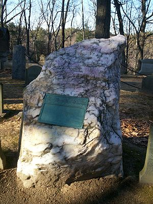 Grave of Ralph Waldo Emerson at Sleepy Hollow ...