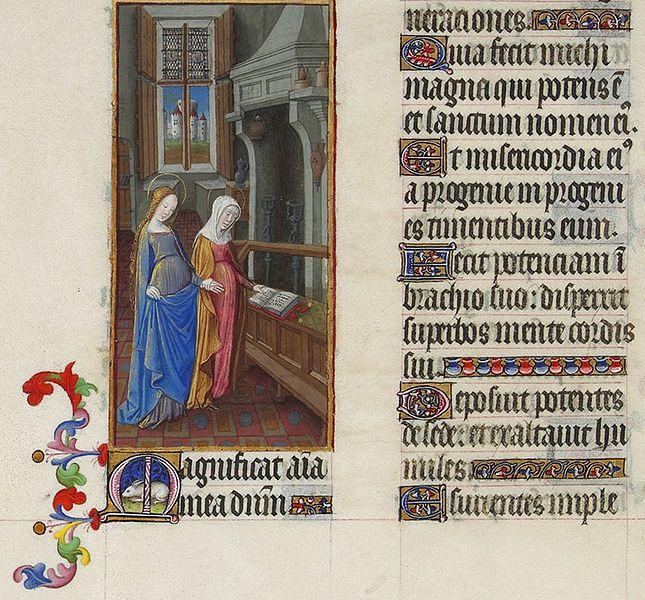 File:Folio 59v - The Visitation.jpg