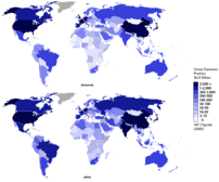 CIA World Factbook 2007 figures of total nomin...