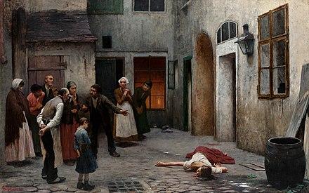 Murder in the House, Jakub Schikaneder.