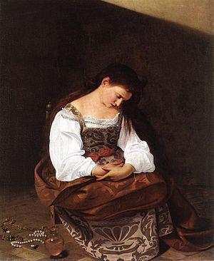 Michelangelo Merisi da Caravaggio - Magdalene ...