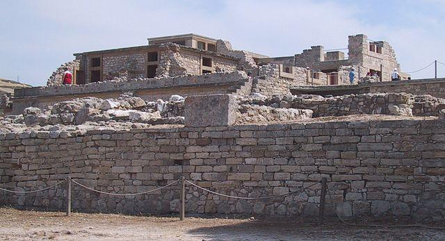 Rovine del palazzo di Cnosso