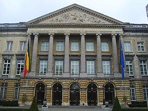 English: Belgian Parliament Français : Parleme...