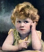 Princess Elizabeth aged three, April 1929