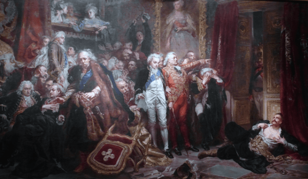 File:Rejtan at Sejm of 1773 by Jan Matejko, 1866.png ...
