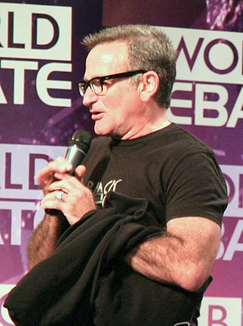English: Robin Williams, U.S. actor, at the 20...