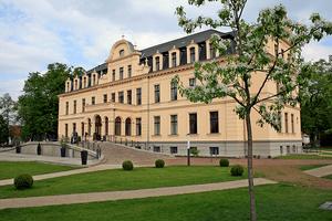 Deutsch: Schloss Ribbeck Rückseite