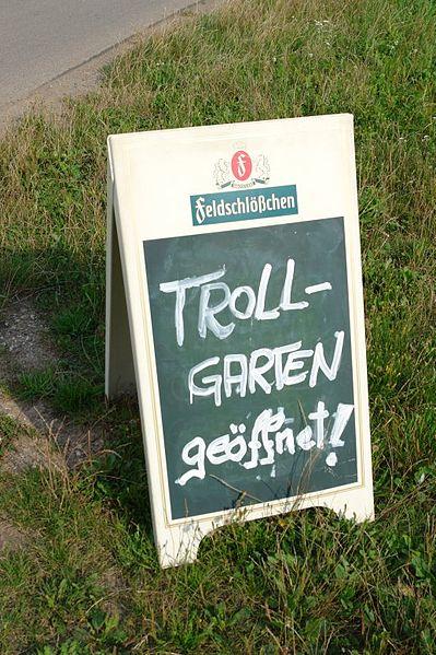 http://commons.wikimedia.org/wiki/File:Trollgarten.jpg