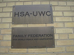 """Family Federation for World Peace and Un..."