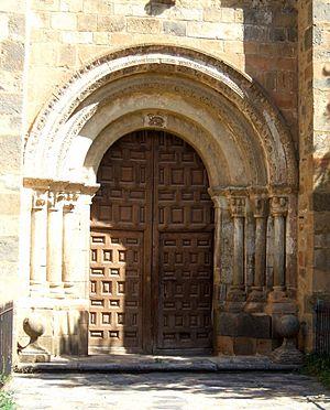 English: Iglesia de San Juan Bautista, Ágreda ...