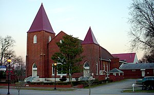 Springfield Baptist Church, Augusta, Georgia, ...