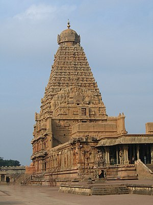 The Brihadeeswara Temple at Thanjavur