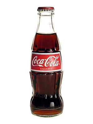 English: Coca Cola (bottle) sold in Indonesia....