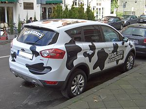 Ford KugaTDCi, Gen1 (from 2008), BEN & JERRY´S...
