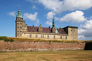 Deutsch: Hamlets Schloss – Schloss Kronborg in...