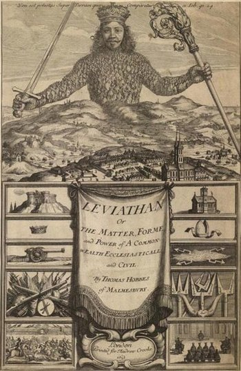 Book by Thomas Hobbes - Leaviathan, which talk...