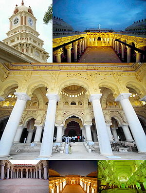 Madurai Thirumalai Nayak Palace Collage