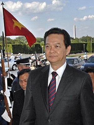 English: Vietnam Prime Minister Nguyễn Tấn Dũng.