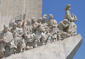 English: Monument to the Discoveries is a monu...
