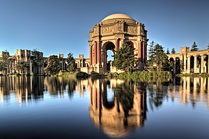 The Palace of Fine Arts in San Francisco, Cali...
