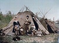 Familia sami en 1900