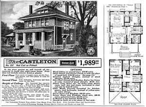 "English: ""The Castleton"" (Model No. ..."