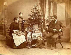 Weihnachten 1892