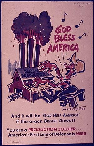 """God Bless America"" - NARA - 514408"