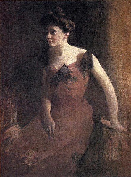 File:Alexander John White Woman in a Red Dress.jpg