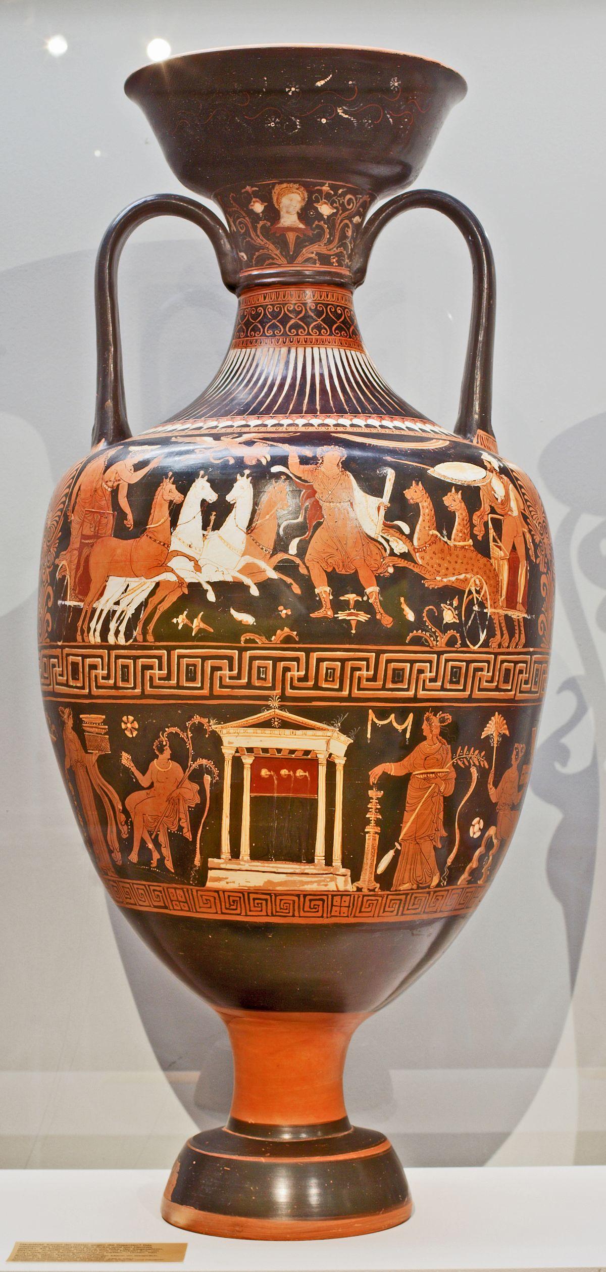 C 233 Ramique Apulienne 224 Figures Rouges Wikip 233 Dia