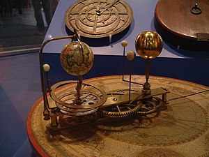 Picture of a small orrery
