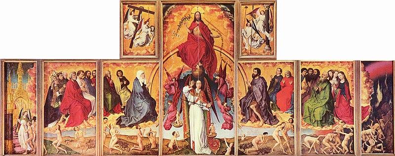 Rogier van der Weyden, Ołtarz Sądu Ostatecznego z Beaune