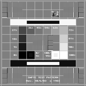 Medical Diagnostic Imaging Test Pattern