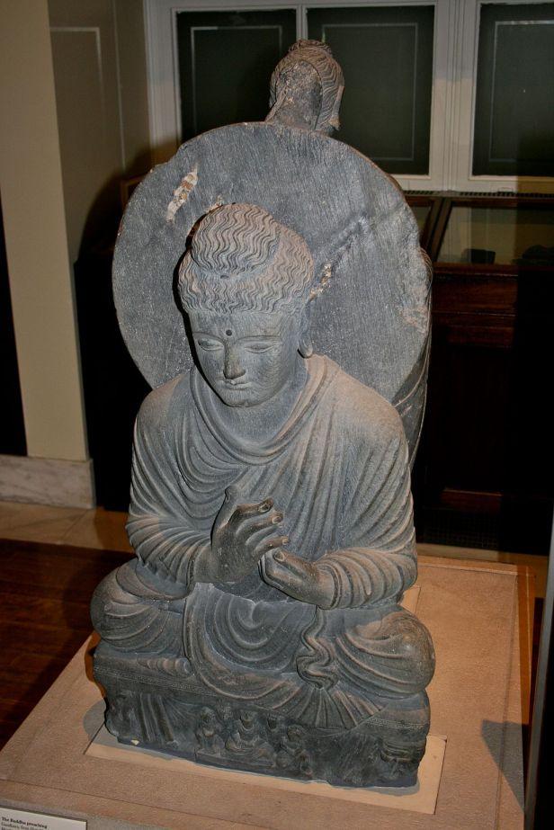 Seated Buddha, British Museum