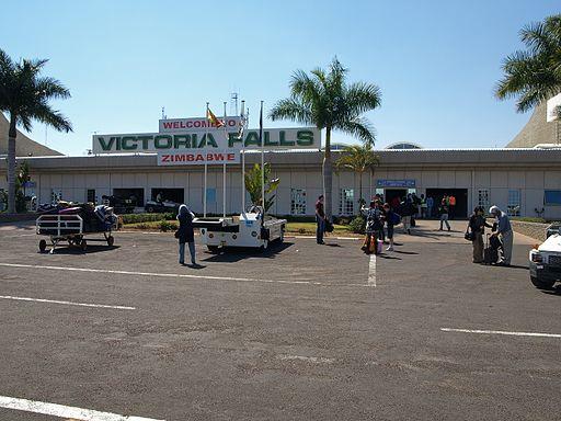 VictoriaFallsAirport arrivals