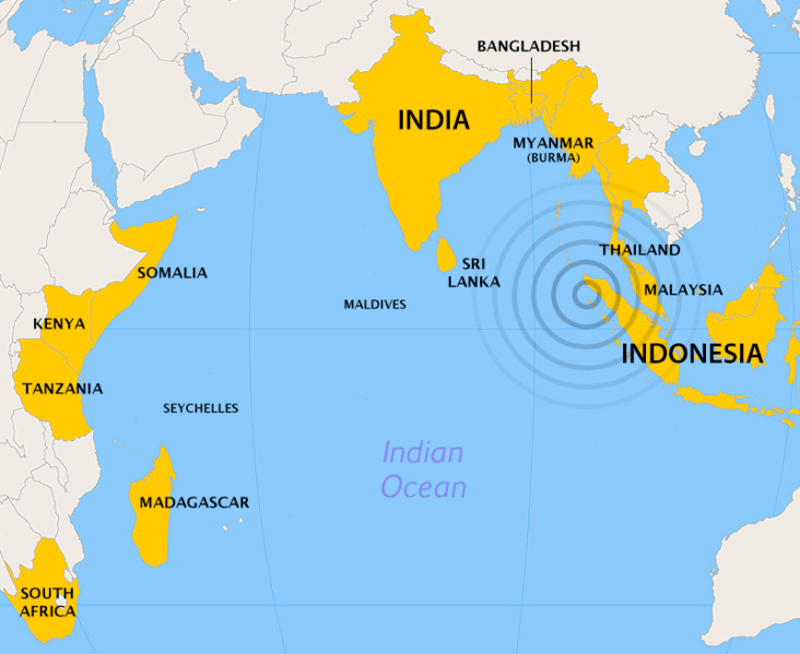 File:2004 Indian Ocean earthquake - affected countries.png