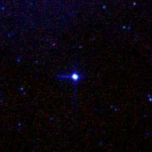 The nearby star system Alpha Centauri. Photo t...