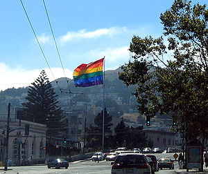 The corner of Market, Castro, and 17th on 06-S...