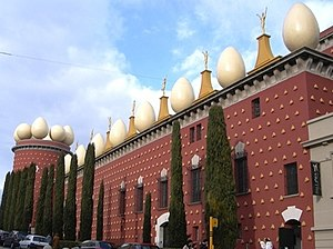 Dalí Theatre and Museum in Figueres, home of h...