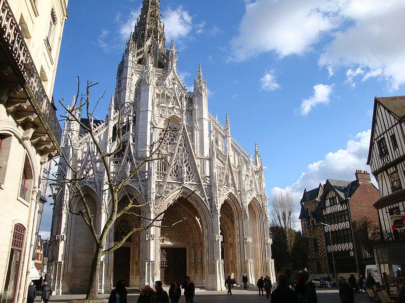 église saint maclou rouen