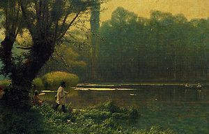 """Summer Afternoon on a Lake"" by Jean..."