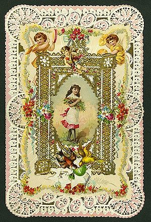 Greeting Card Valentine 1899