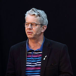 English: Knut Nærum during Oslo Bokfestival 2011