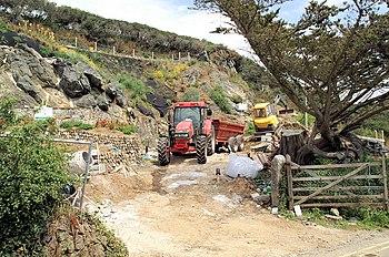 English: Landscaping, Mullion Cove Landscaping...