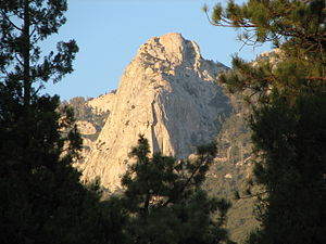 English: Tahquitz Rock a.k.a. Lily Rock (from ...