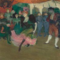 """Marcelle Lender Dancing the Bolero in """"Chilpéric"""" by Henri de Toulouse-Lautrec"""