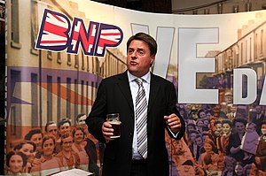 Nick Griffin MEP, the British National Party leader