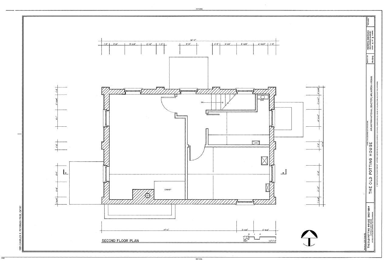 File Old Potting House Arlington National Cemetery Arlington Arlington County Va Habs Va 7
